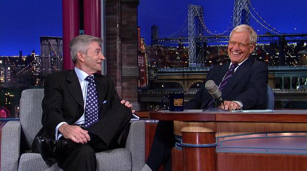 Tom Dressen & David Letterman Photo