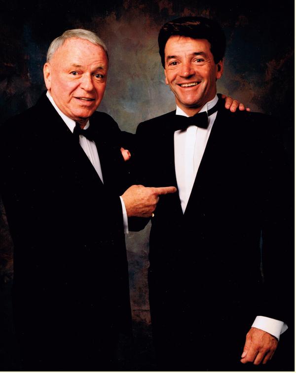 Frank Sinatra & Tom Dressen Photo
