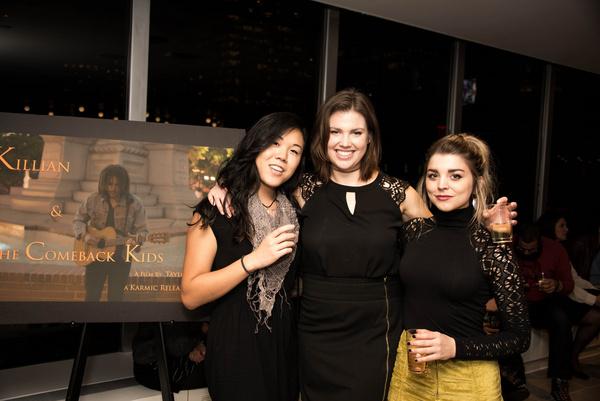 Taiya Cheng, Lauren Karaman and Sydney Shepherd. Photo