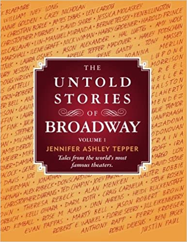 Broadway Books: 10 Books Every Theatre Fan Should Read Just For Fun!