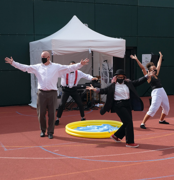 Photo Flash: Inside Rehearsal For Told by an Idiot's GET HAPPY at Greenwich+Docklands International Festival