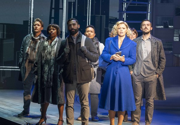 Kimberley Walsh and the cast Photo