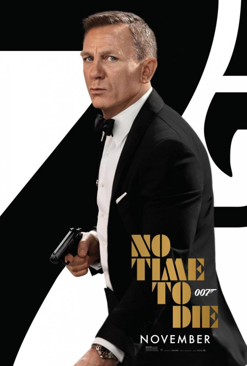 See the Brand-New Poster for Upcoming Bond Film NO TIME TO DIE