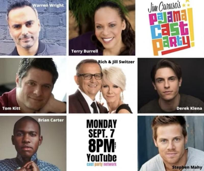 VIDEO: Watch Derek Klena, Tom Kitt & More on Jim Caruso's Pajama Cast Party- Live at 8pm!