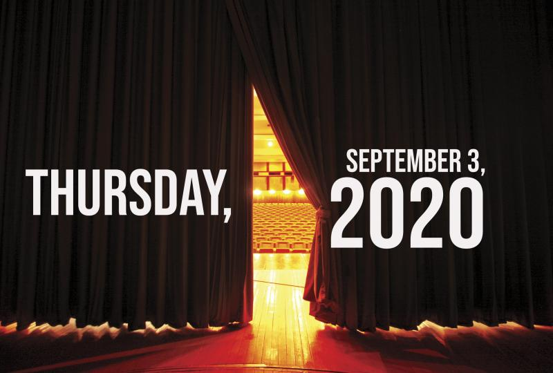 Virtual Theatre Today: Thursday, September 3- with Broadway Belts for Biden and More!