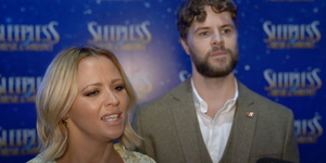 SLEEPLESS Stars Jay McGuiness and Kimberley Walsh Discuss Opening the Show, the Impor Video
