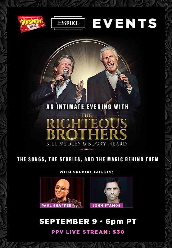 An Intimate Evening with the Righteous Brothers and Guests John Stamos and Paul Shaffer - Airing Tonight!