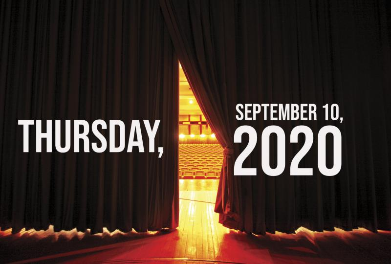 Virtual Theatre Today: Thursday, September 10- with Next On Stage: Dance, Jim Brickman and More!