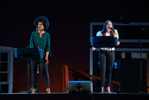 Photo Flash: See Jennifer Sánchez , Kimberly Marable and More in THE PERFECT FIT: A Perfectly Distant Concert
