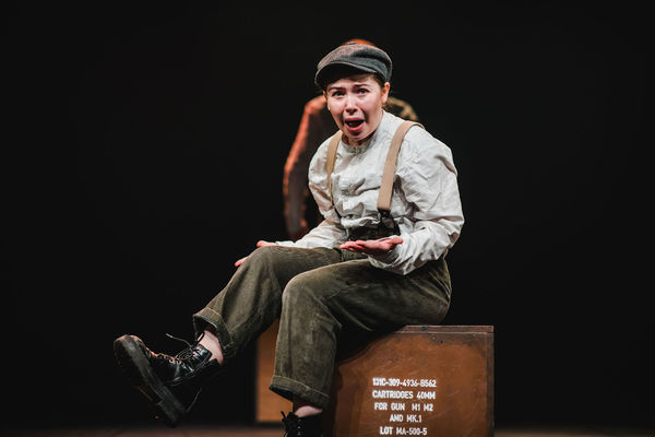 Photo Flash: First Look at PRIVATE PEACEFUL at the Barn Theatre, Starring Emily Costello and James Demaine