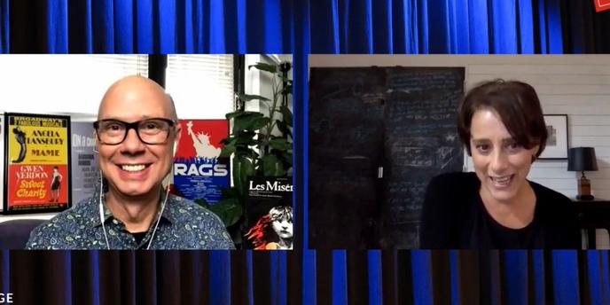 VIDEO: Judy Kuhn Visits Backstage LIVE with Richard Ridge Video