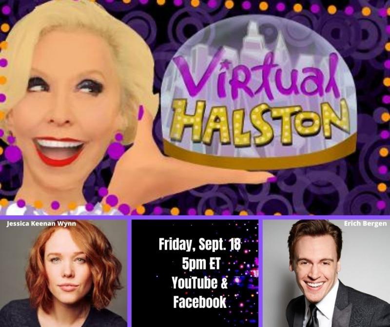 BWW Previews: Jessica Keenan Wynn & Erich Bergen Go VIRTUAL HALSTON September 18th