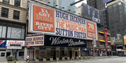 Up on the Marquee: THE MUSIC MAN Prepares for Broadway's Return at the Winter Garden Theat Photo