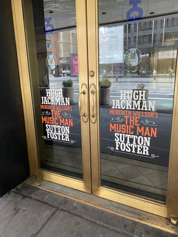 Up on the Marquee: THE MUSIC MAN Prepares for Broadway's Return at the Winter Garden Theater