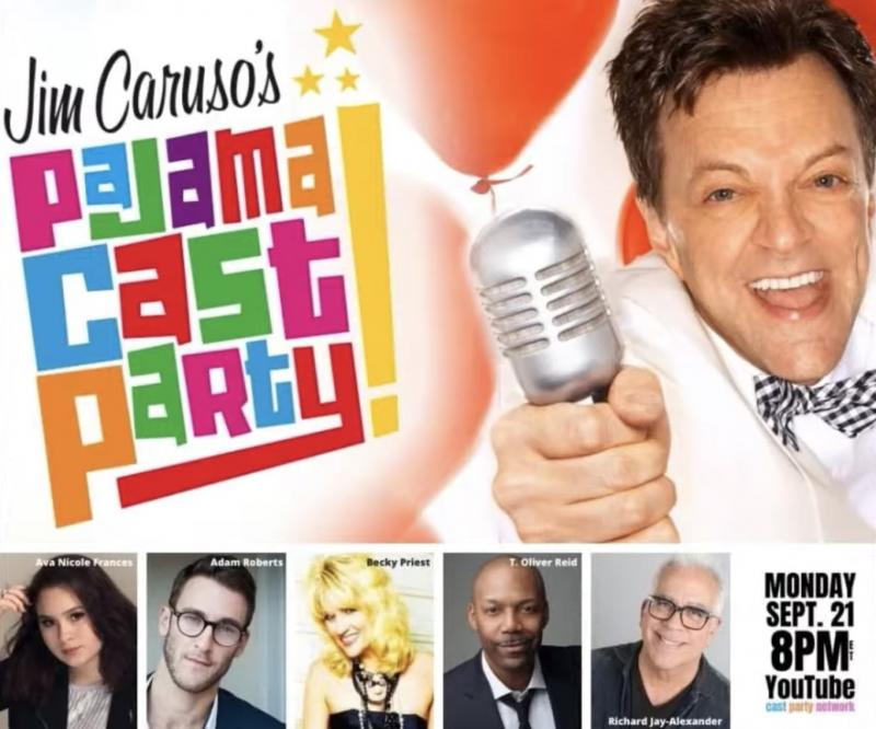 VIDEO: Watch Richard Jay-Alexander, T. Oliver Reid & More on Jim Caruso's Pajama Cast Party
