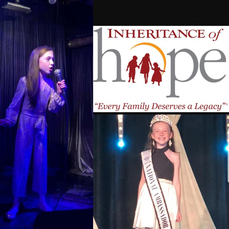 #MeaningfulMonday - Meet Caitlin with The Caitlin Sings Project for Inheritance of Hope