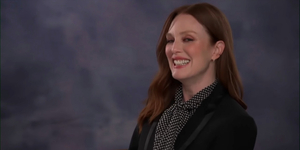Julianne Moore Fangirls Over Julia Steinem on TONIGHT SHOW Video