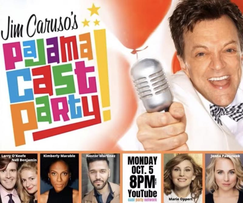 VIDEO: Watch Larry O'Keefe, Nell Benjamin & More on Jim Caruso's Pajama Cast Party