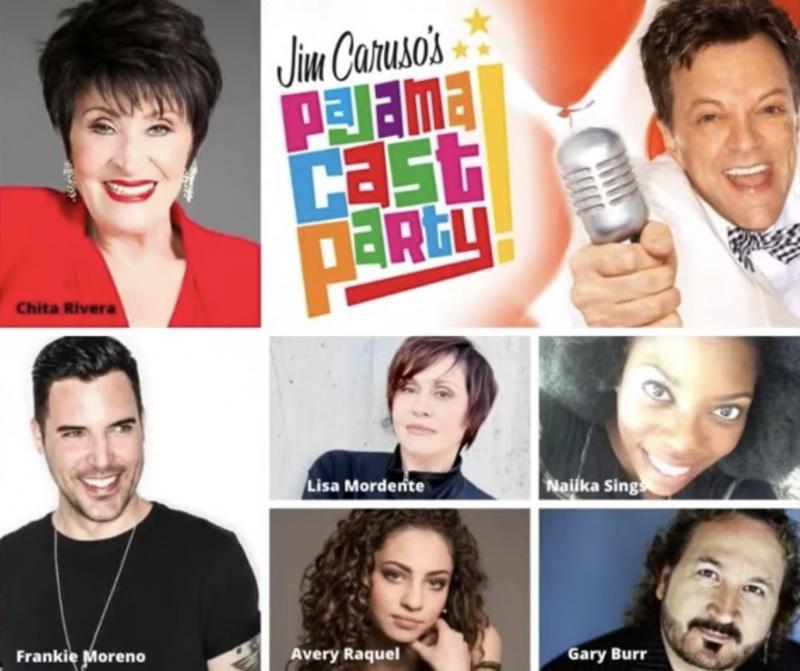 VIDEO: Watch Chita Rivera & More on Jim Caruso's Pajama Cast Party