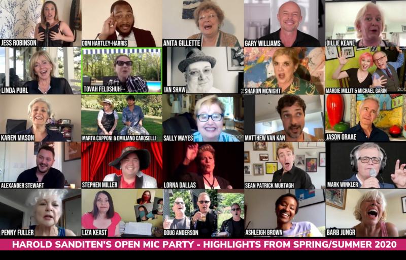 BWW Review: HAROLD SANDITEN'S OPEN MIC PARTY Festively Opens Hearts