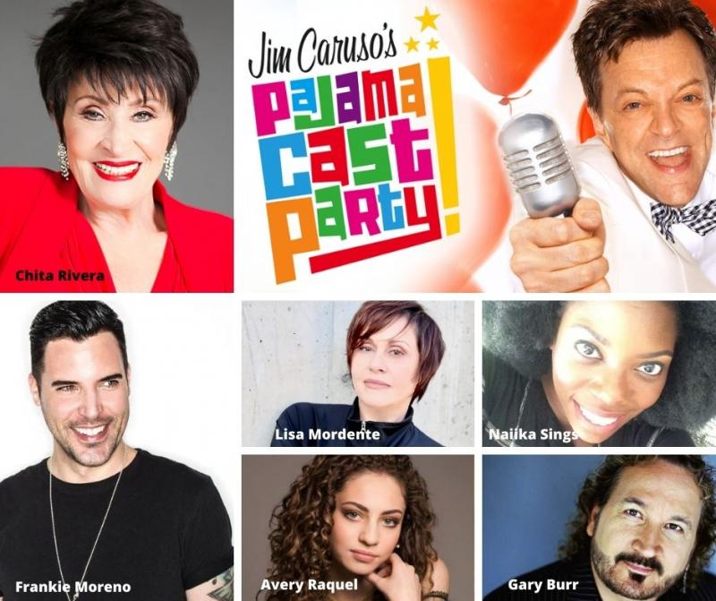 BWW Previews: Chita Rivera and Lisa Lisa Mordente Drop In On JIM CARUSO'S PAJAMA CAST PARTY September 28th
