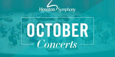 Houston Symphony October In-Person & Livestream Performances Photo