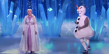 VIDEO: BRITAIN'S GOT TALENT Contestants Perform 'Into the Unknown' as Elsa and Olaf Photo
