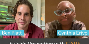 Ben Platt & Cynthia Erivo Speak Up About Suicide Prevention Video