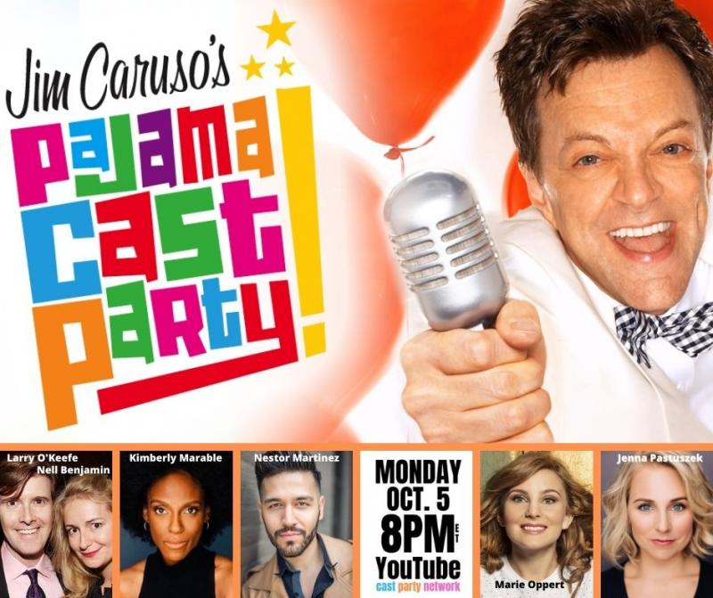 BWW Previews: October 5th JIM CARUSO'S PAJAMA CAST PARTY Promises A World of Talent