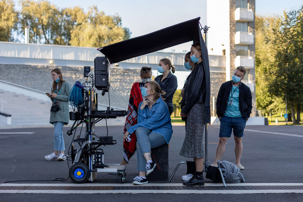 Photo Flash: Behind the Scenes of SINGING REVOLUTION: THE MUSICAL Music Video