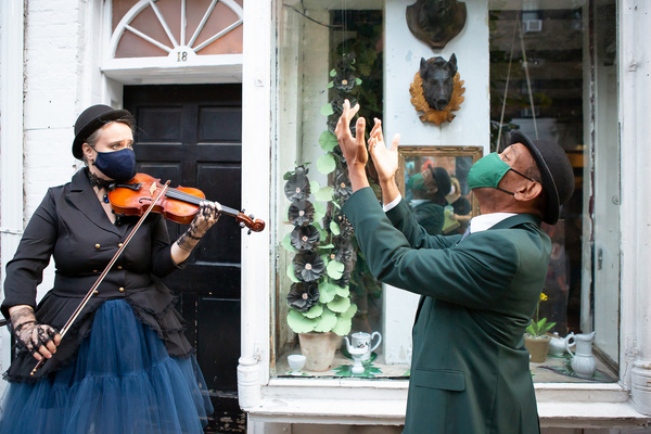 Photo Flash: VOYEUR: THE WINDOWS OF TOULOUSE-LAUTREC Takes Over The Streets Of The West Village