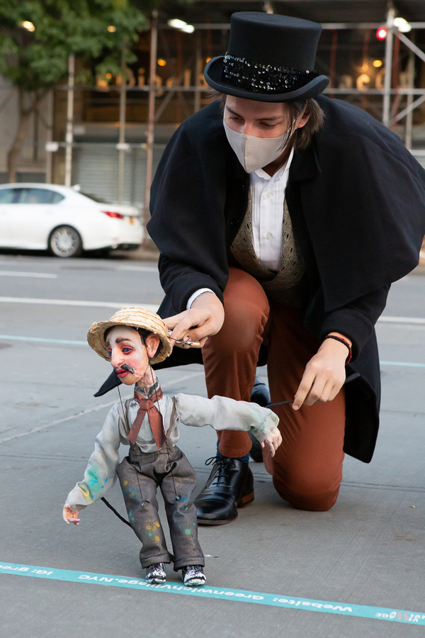Persephone Squires (with puppet by James Ortiz) Photo