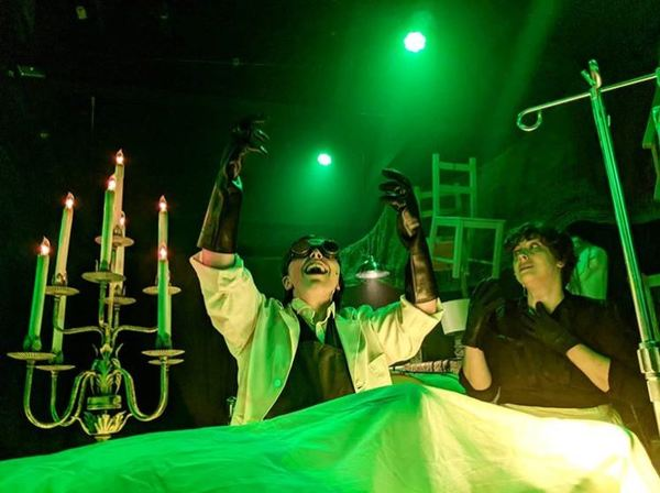 Photo Flash: FRANKENSTEIN Announced At Open Stage Online