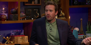Armie Hammer Talks About His Broadway Show 'The Minutes' Video