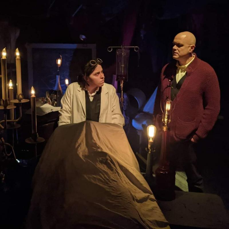 BWW Review: FRANKENSTEIN; OR, THE MODERN PROMETHEUS at Open Stage
