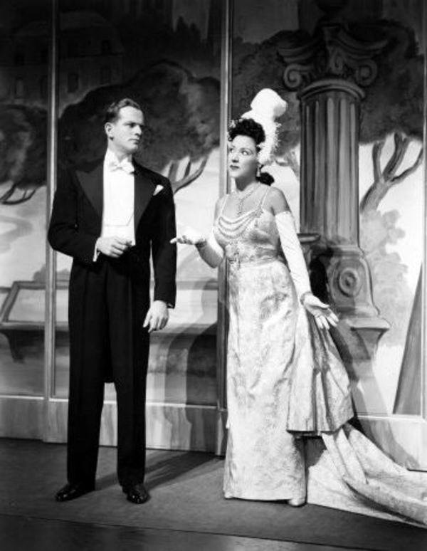 Alan Hewitt and Ethel Merman Photo