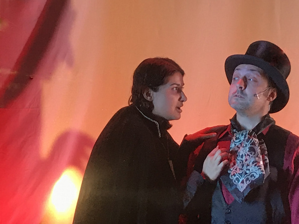 Photo Flash: Peer Through The Windows At Open Book Theatre For Spooky Stories In HAUNTED