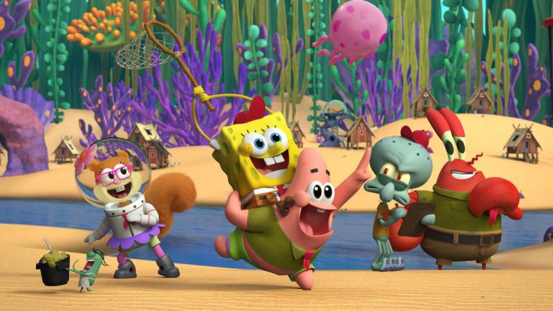 See a First-Look Image From SPONGEBOB Prequel KAMP KORAL