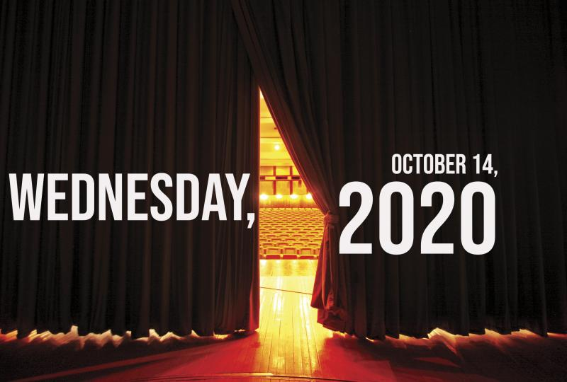 Virtual Theatre Today: Wednesday, October 14- with Kate Rockwell, Jenn Colella, Chilina Kennedy, and More!