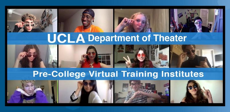 Learn All About the UCLA Department of Theater Virtual Institutes!