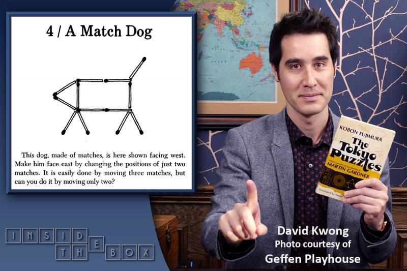 BWW Interview: Puzzle Master/Magician David Kwong Puzzlingly Mystifies INSIDE THE BOX