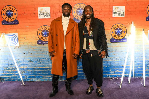 Photo Flash: See Aaron Marcellus, Nick Rashad Burroughs and More at the Opening of Radial Park's PURPLE RAIN