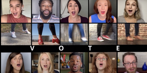 Broadway Stars Want You to Make a Plan to Vote Video