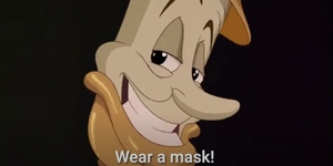 Check Out 'Wear a Mask', a Parody of 'Be Our Guest' Video