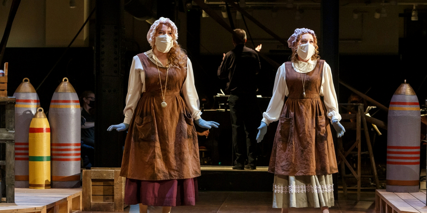 Photo Flash: Pittsburgh Opera Presents Live Indoor Performances of COSI FAN TUTTE Photo