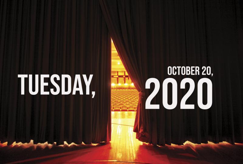 Virtual Theatre Today: Tuesday, October 20- with John Logan, James Monroe Iglehart, and More!