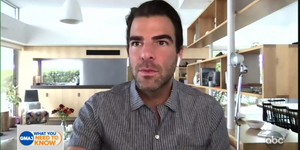 Zachary Quinto Talks About the Broadway Shutdown on GMA Video