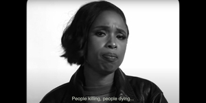 Watch Jennifer Hudson in an Election-Themed Version of 'The Love' Video