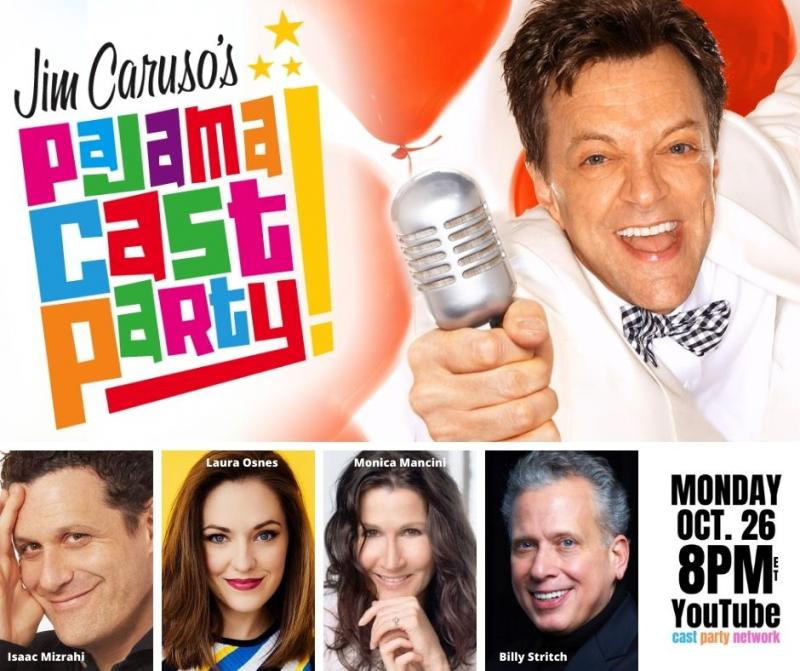 BWW Previews: Mizrahi, Osnes, and Mancini make Pajama Cast Party debuts on October 26th