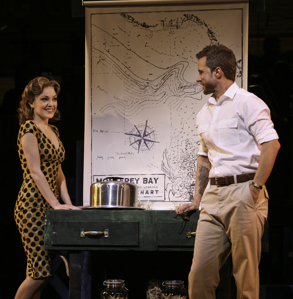 Laura Osnes and Will Chase Photo